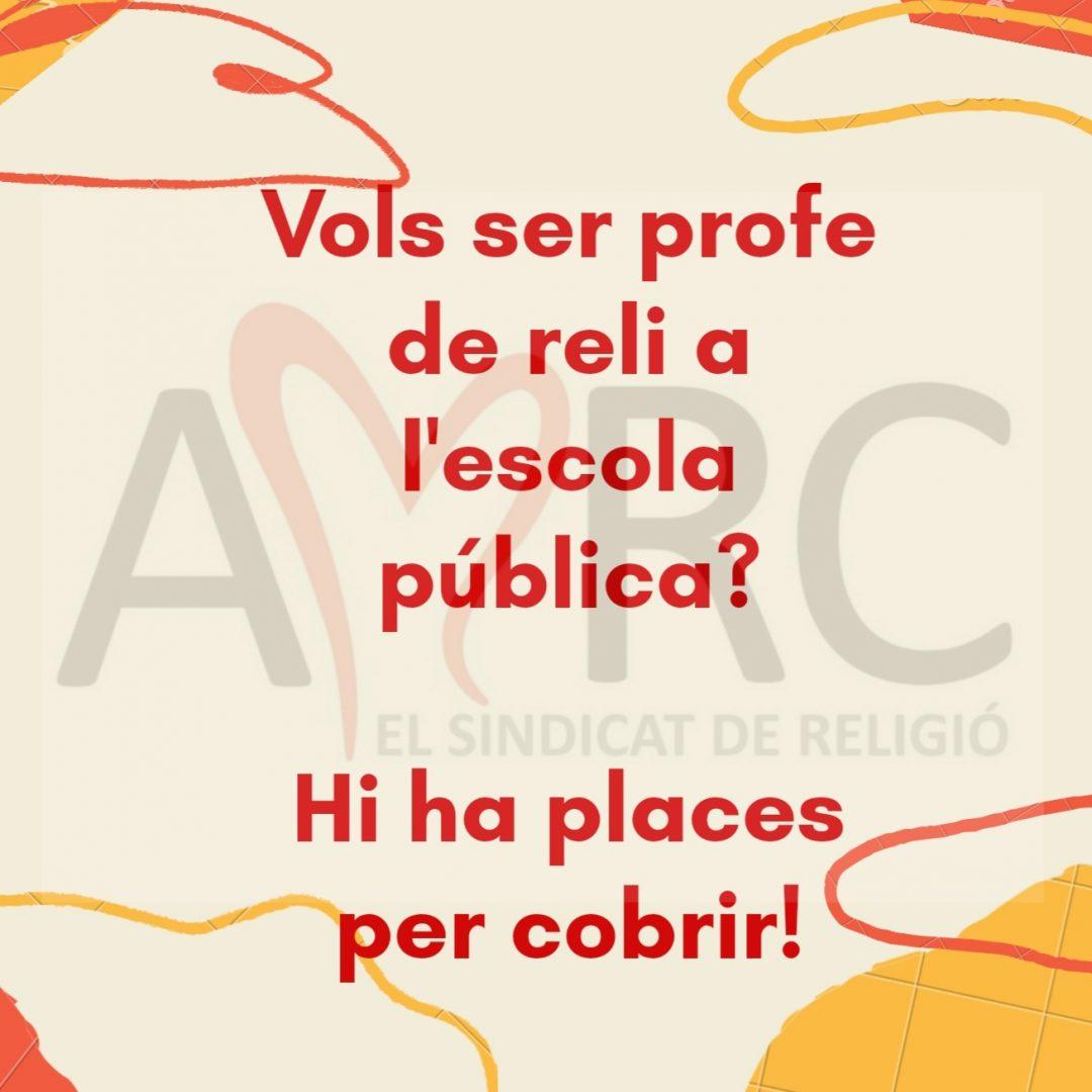 Vols ser profe de religió a la pública?